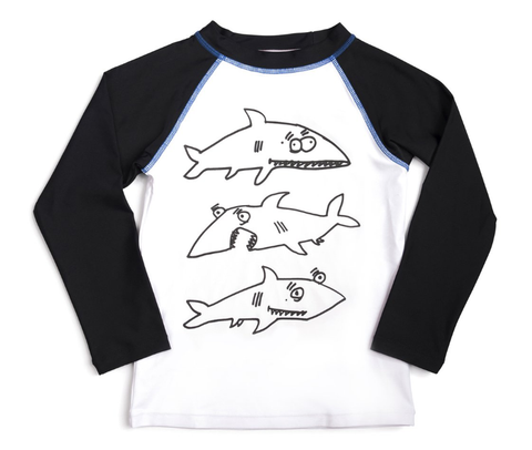 Appaman Shark  Rash Guard