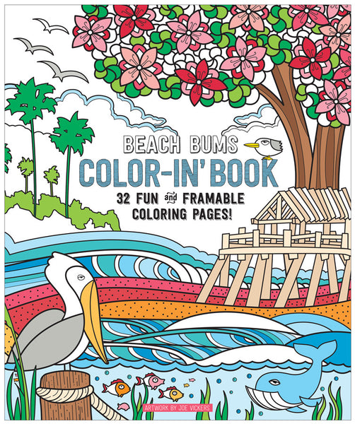 OOLY Color-in Book
