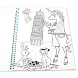OOLY  Color-in' Book: Unicorn Adventures