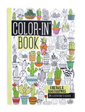 IA Travel Size Color In Book: Cactus and Succulents