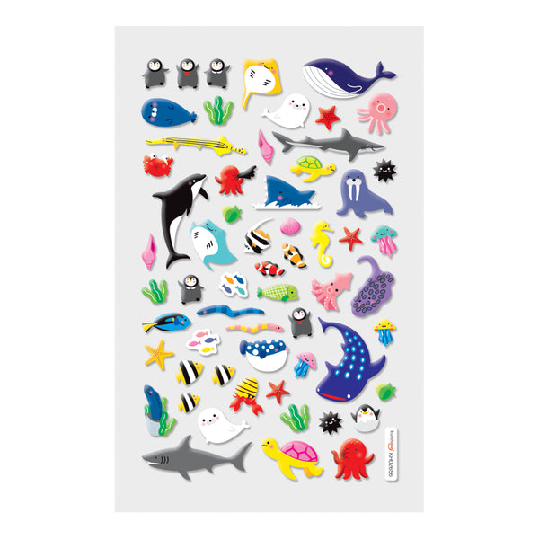 OOLY Itsy Bitsy: Marine Friends Stickers - 1 Sheet