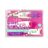 OOLY Owls on a Roll Deco Tape and Refill