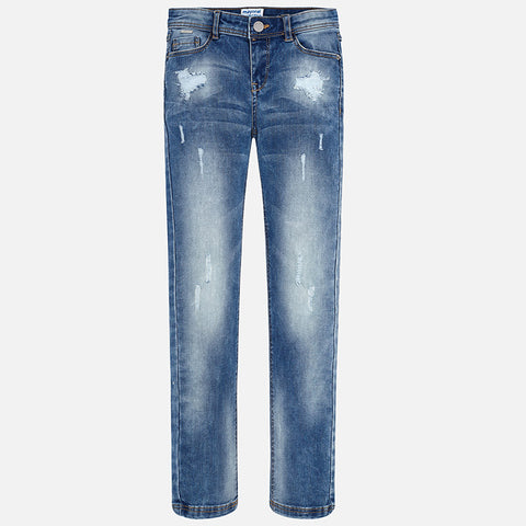 Mayoral Basic Denim Slim Fit Pants