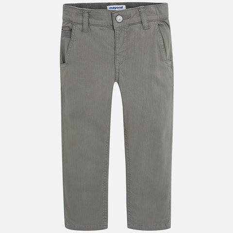 Mayoral Cemento Chino Lined Trousers
