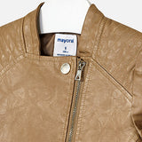 Mayoral Golden Leather Jacket