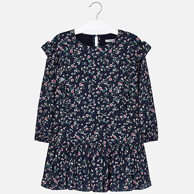 Mayoral Amatista Amythest Floral Dress