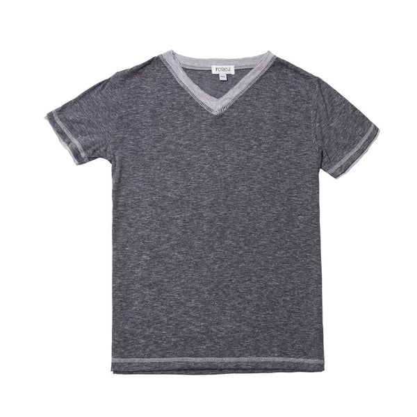 Fore Heather Charcoal Melange Jersey T-Shirt