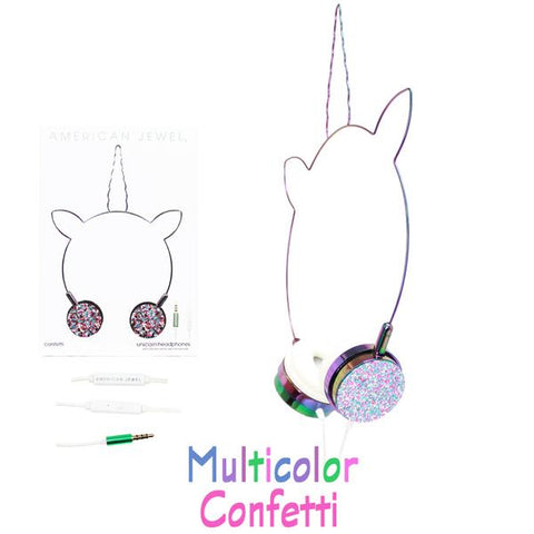 American Jewel Unicorn Headphones