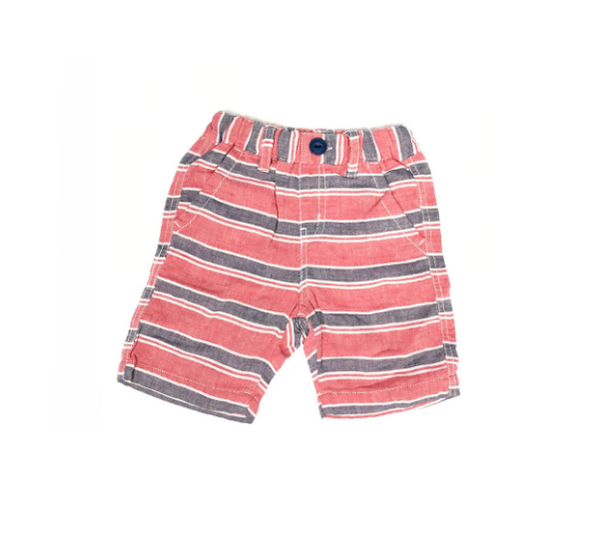 Bitz Kids Red and Navy Stripe Short