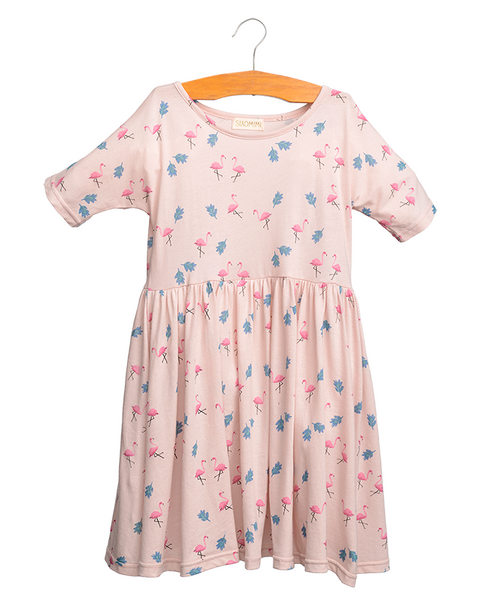Siaomimi Lilly Dress Pink Flamingo