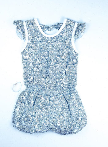 Feather Baby Tie Romper - Anime