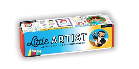 Mudpuppy Little Artist Activity Roll +5 Pencils