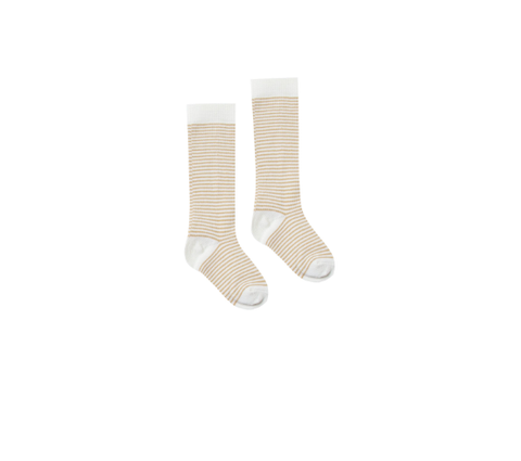 Rylee and Cru Socks Stripe Honey