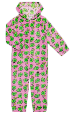 Candy Pink Avocado Onesie