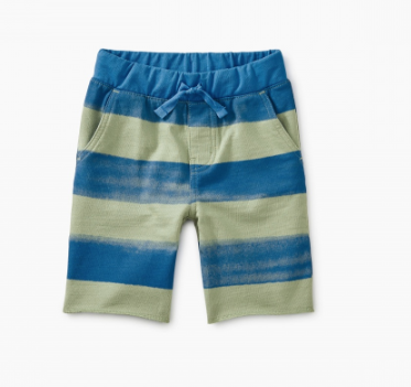Tea Collection Patterned Cruiser Baby Short Below Knee Painted Stripe