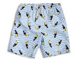 Appaman Mid Lenth Swim Trunks Toucan Wave
