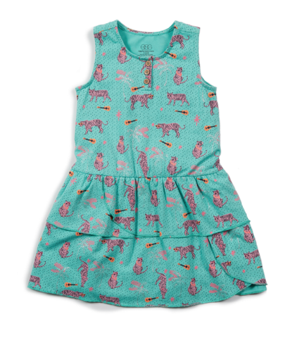 Egg Brianna Dress Turquoise