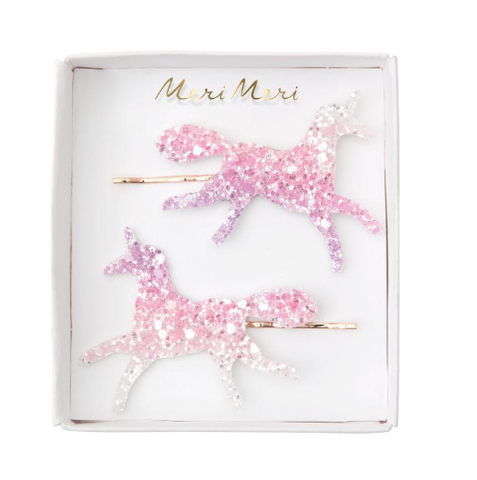 Meri Meri Sparkly Unicorn Hair Slides