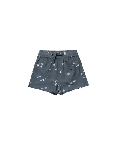 Rylee and Cru Angel Fish swim trunk