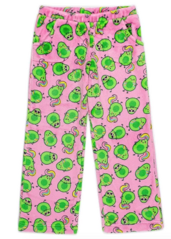 Candy Pink Avocado Pants