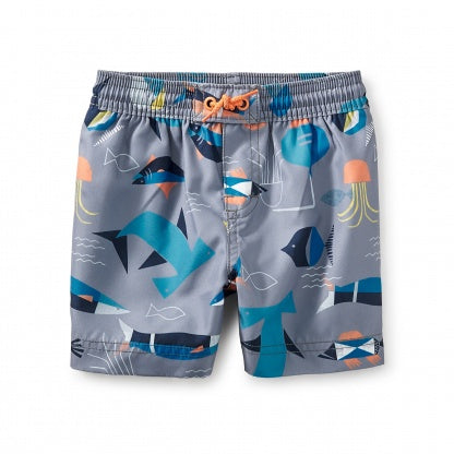 Tea Collection Salt Water Baby Swim Trunks