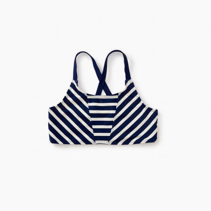 Tea Collection Striped Bikini Top