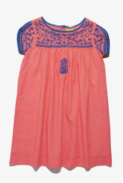 RRR Girls Sophia Dress Coral