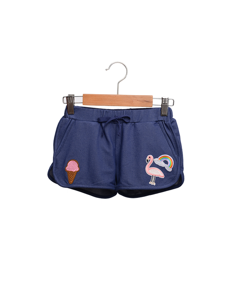 Siaomimi Gym Short Denim