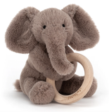 Jelly Cat Wooden Ring Shooshu Elephant