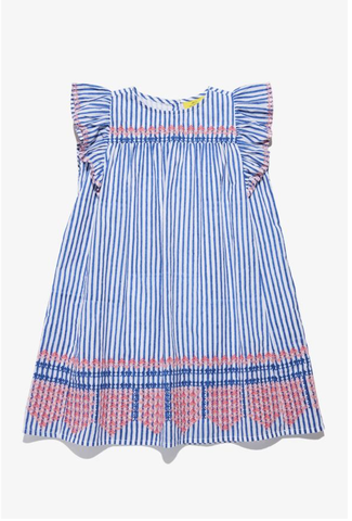 RRR Girls Lyle Dress Blue
