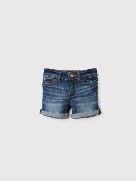 DL1961 Piper Cuffed Short Sea Lion (Denim)