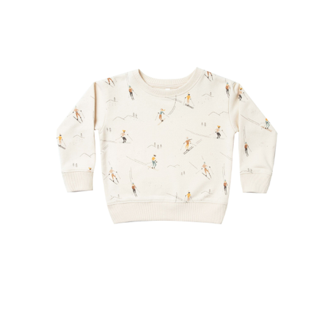 Rylee and Cru Ski Sweatshirt Wheat