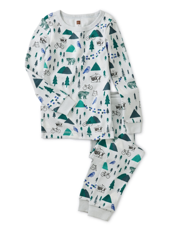 Tea Forest Animal PJs