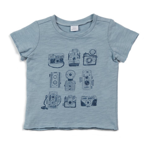 Egg Damian Graphic Tee Camera