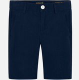 Mayoral Tailored Seersucker Bermudas Navy