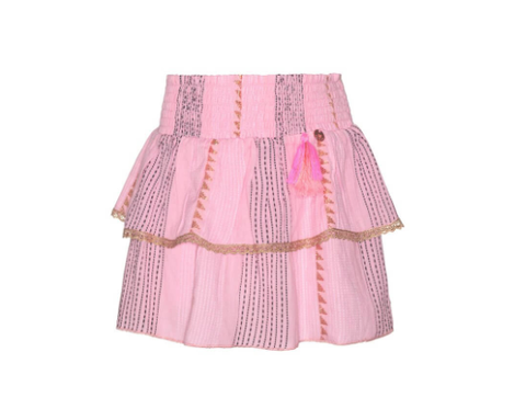 Mim Pi Pink Skirt Layered