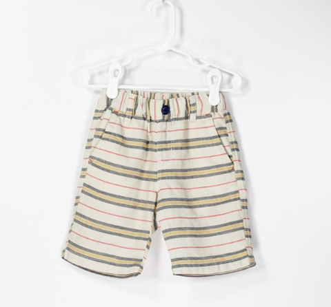 Bitz Kids  Neutral Stripe Short