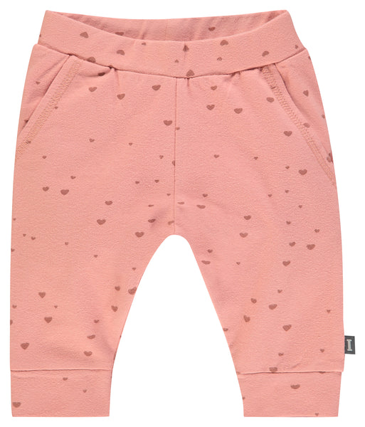 I&E Sweatpants Dark Pink Hearts
