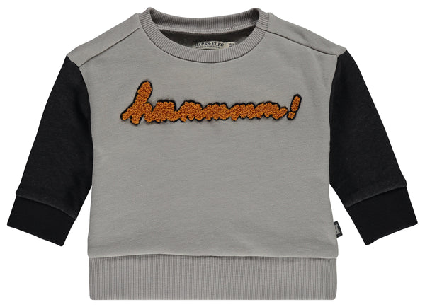I&E Pullover Longsleeve Snow/Stormy - Hmmmmm