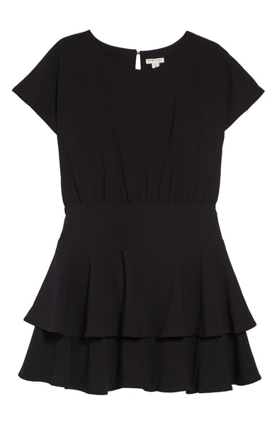 Habitual Crepe Dress Black