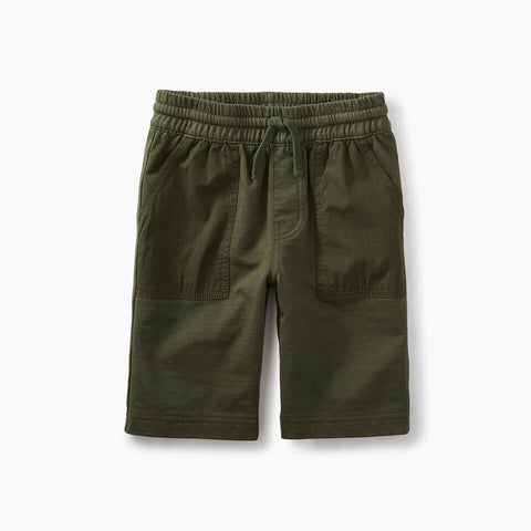 Tea Collection Patch Pocket Shorts Forest