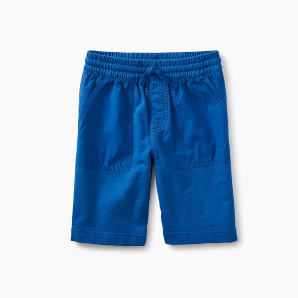 Tea Collection Patch Pocket Shorts Bayou Blue