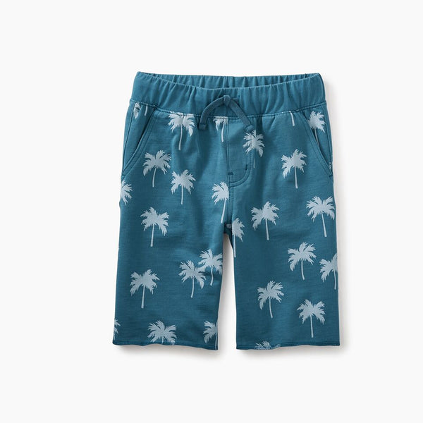 Tea Collection Print Cruiser Shorts Palm Trees