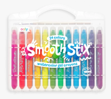 Ooly Smooth Stix Water Color Gel Crayons 24 PC Set