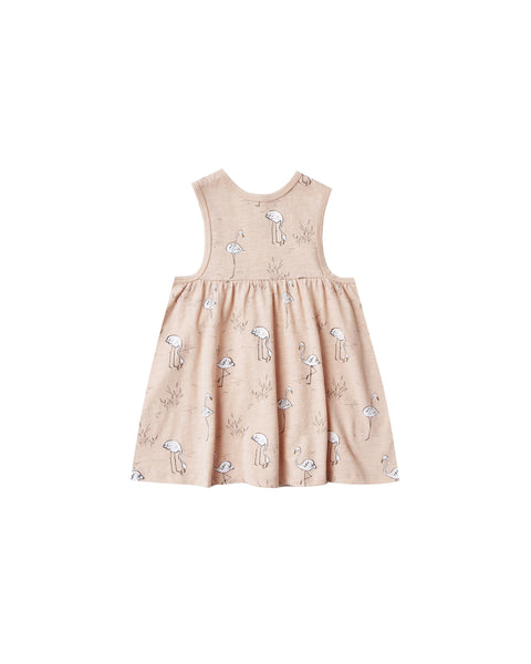 Rylee and Cru Layla Mini Dress flamingos