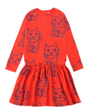 Nadadelazos Cat Dress
