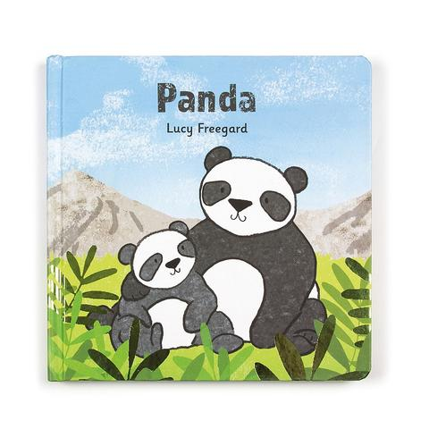 Jelly Cat Panda Board Book