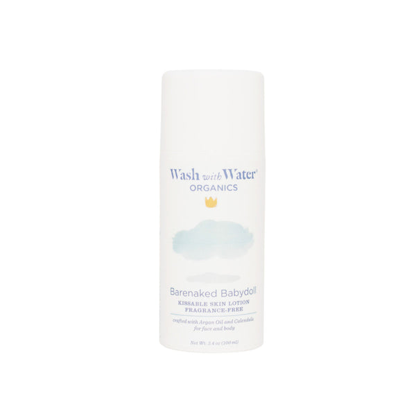 Wash with Water Barenaked Babydoll lotion