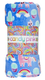 Candy Pink Fleece Blanket