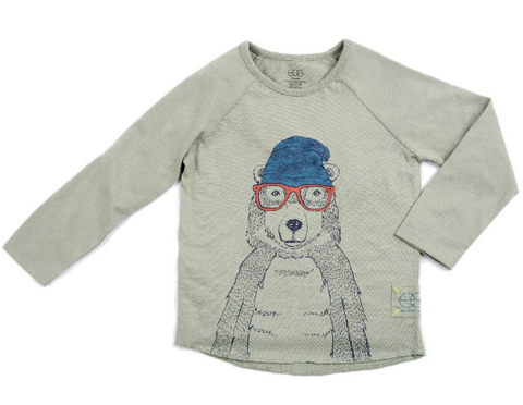 Egg Dominic Tee Hipster Bear